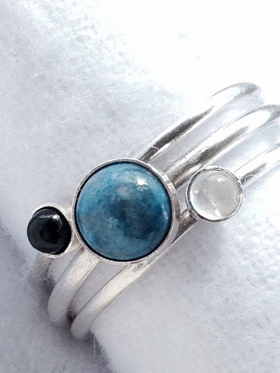 Stacking Lapis Ring