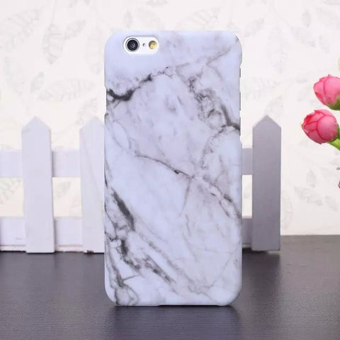 Marble effect iPhone cases