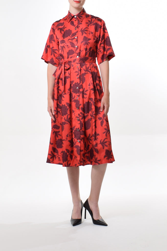Fade jersey dress in Lilac