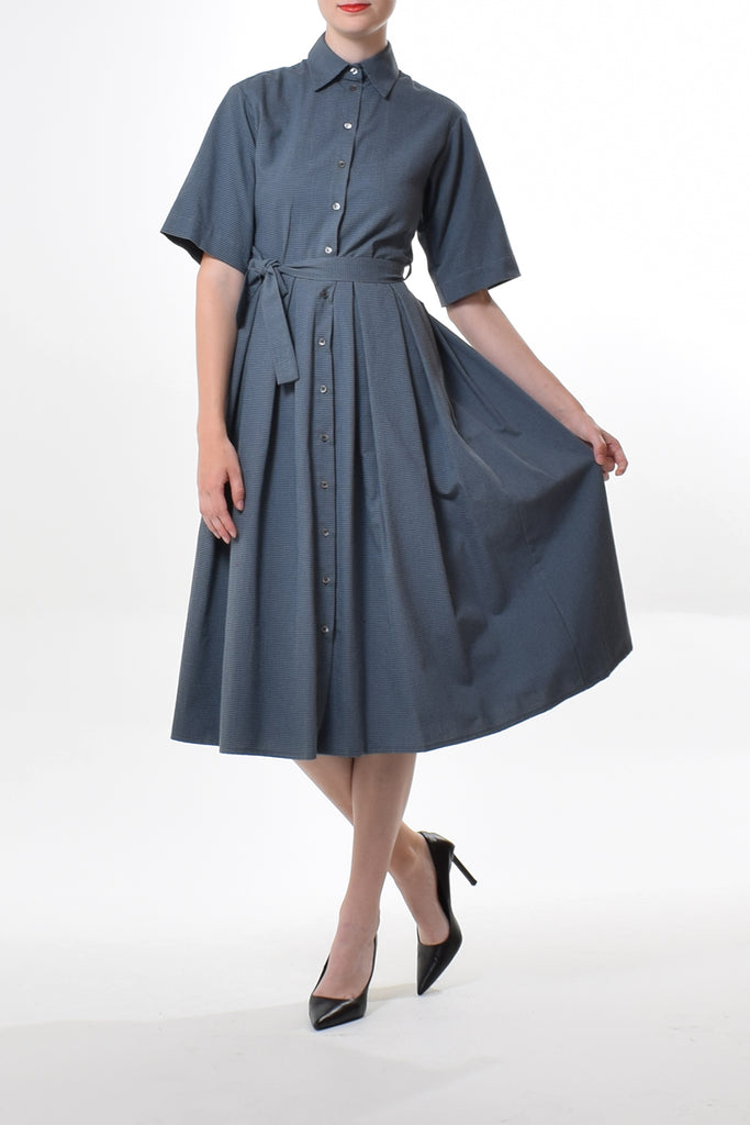 Fade jersey dress in Red