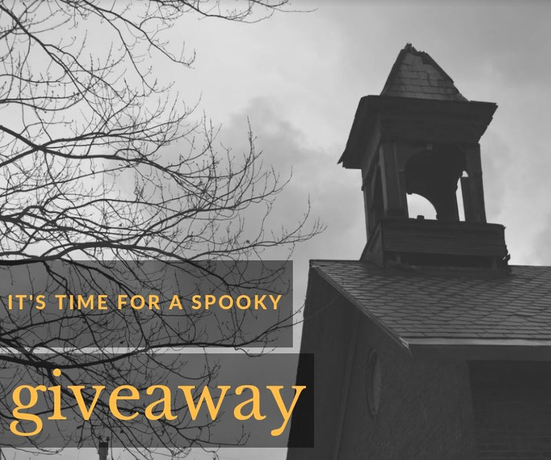 Tuesday, October 30, 2018- Halloween Giveaway