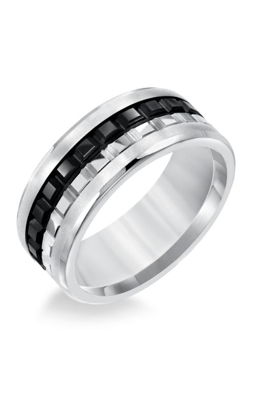 Black And White Fancy Triton Band