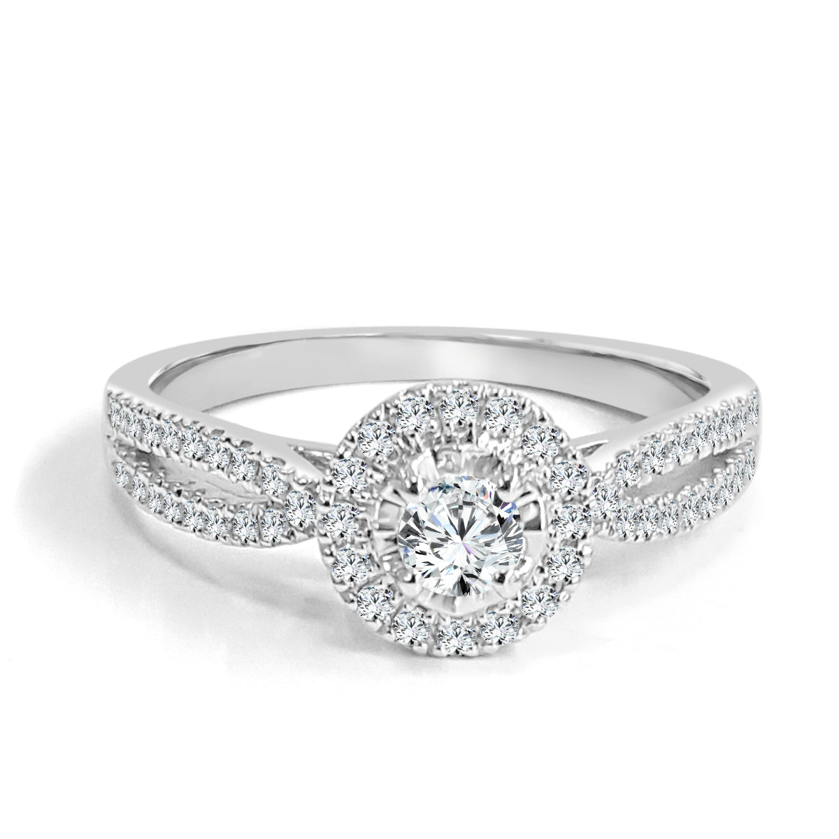 petite shank gold pave stems halo a french diamond enr oval split with ring in rings pav engagement brilliant yellow