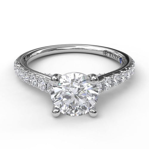 Fana Solitaire 0.48 Carat Diamond Mounting