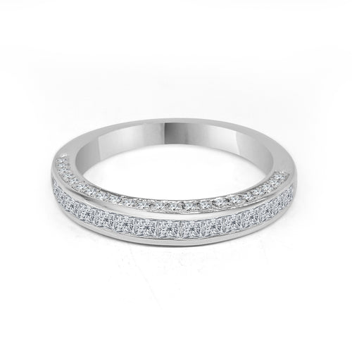 Triple Sided Diamond Fancy Band