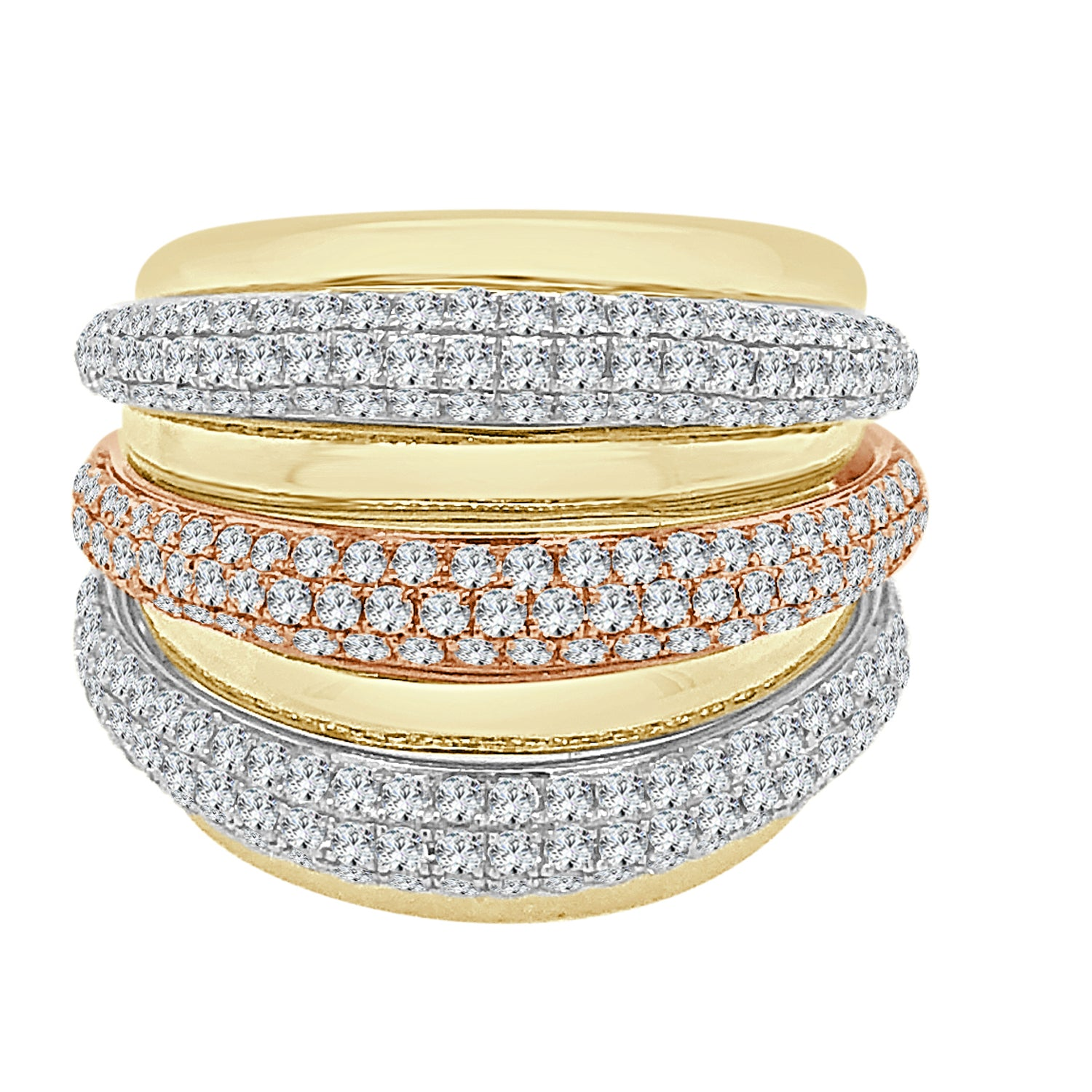 14 Karat Yellow Gold 1.46 Carat Diamond Ring