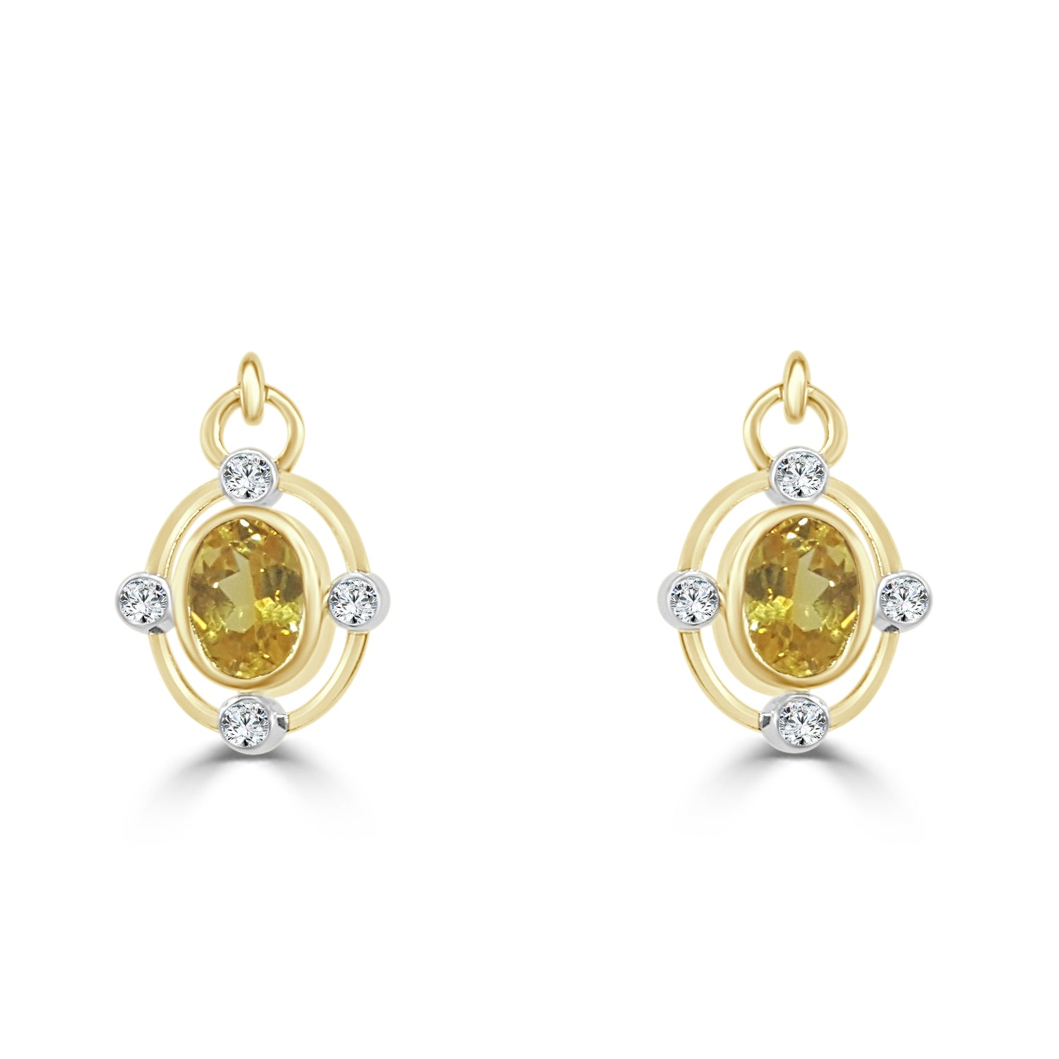 image hera product earrings boutique yellow diamond sapphire