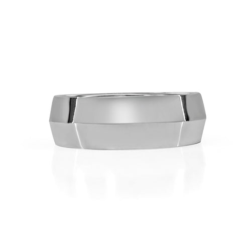 Tungsten Carbide Beveled Band