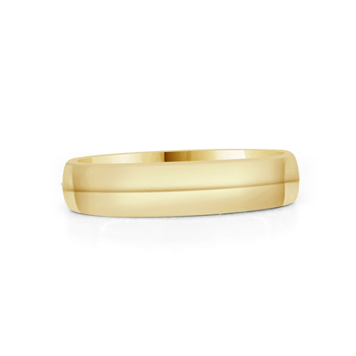 Comfort Fit 4mm Wedding Band