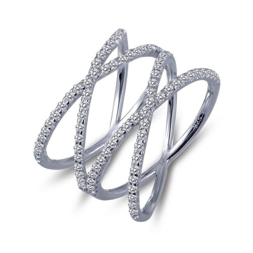 Lafonn Double Cross Ring