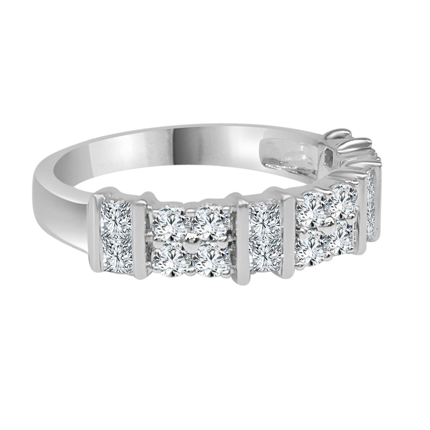 Fancy Divided Diamond Ring