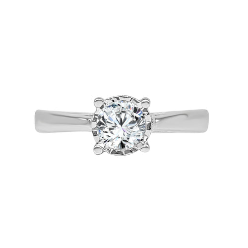 Miracle 0.55 Carat Diamond Solitaire Ring