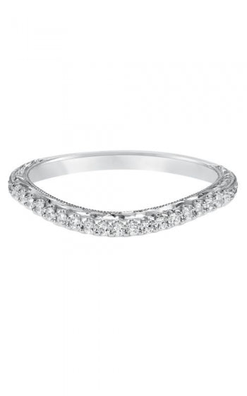 Fancy Curved Diamond Band
