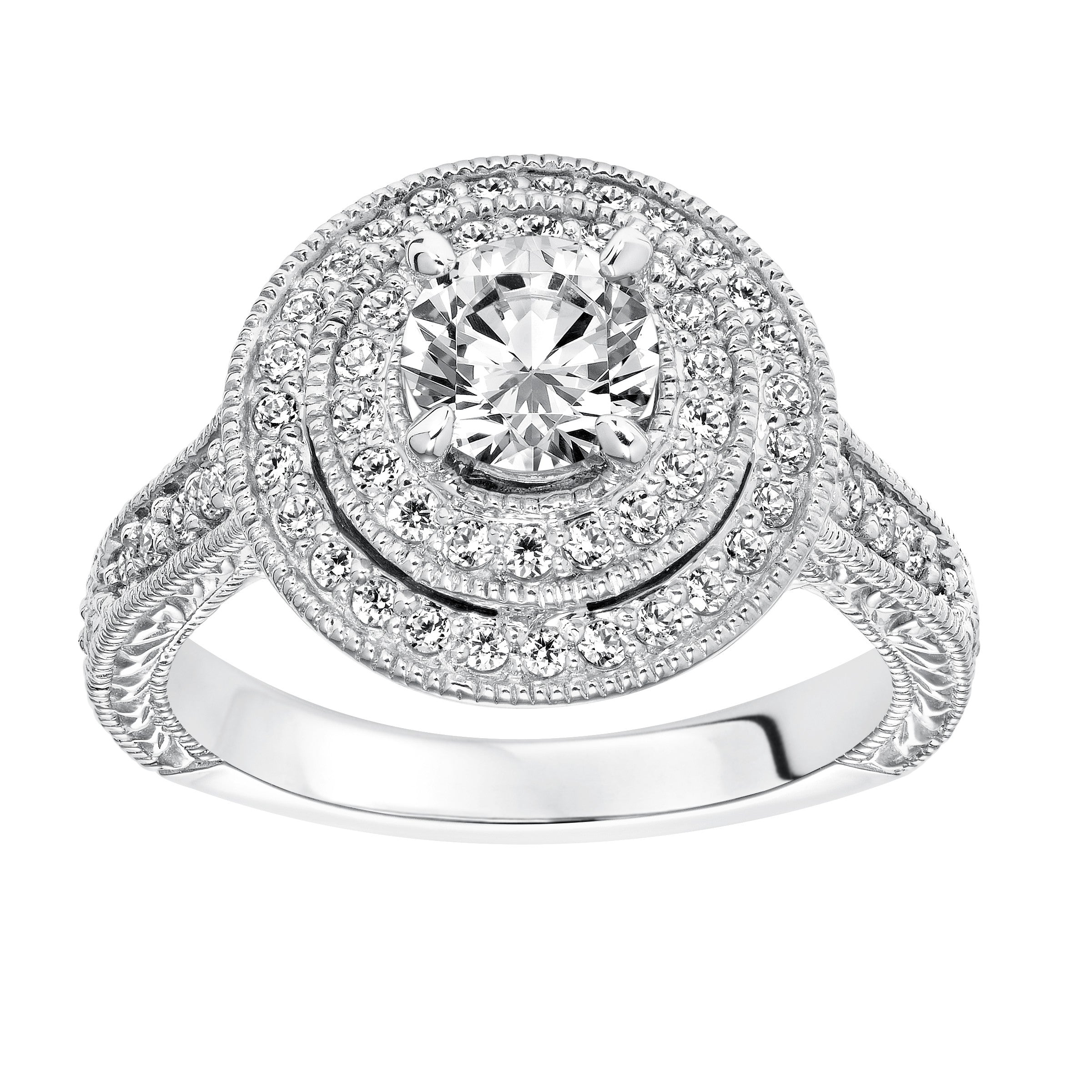 size wedding milgrain ags shape ct in rings diamond white gold certified band v products ctw
