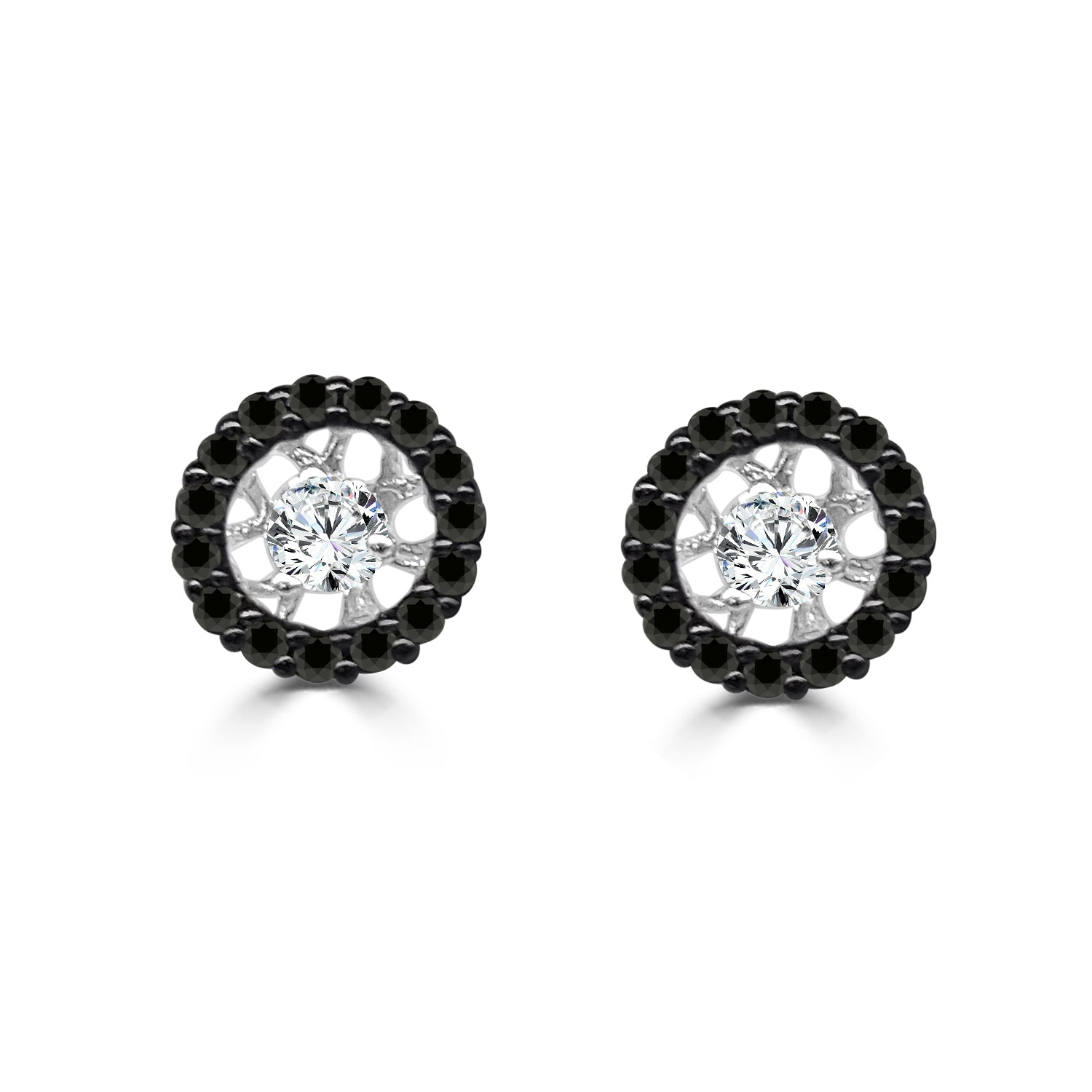 Black Diamond Earring Jackets