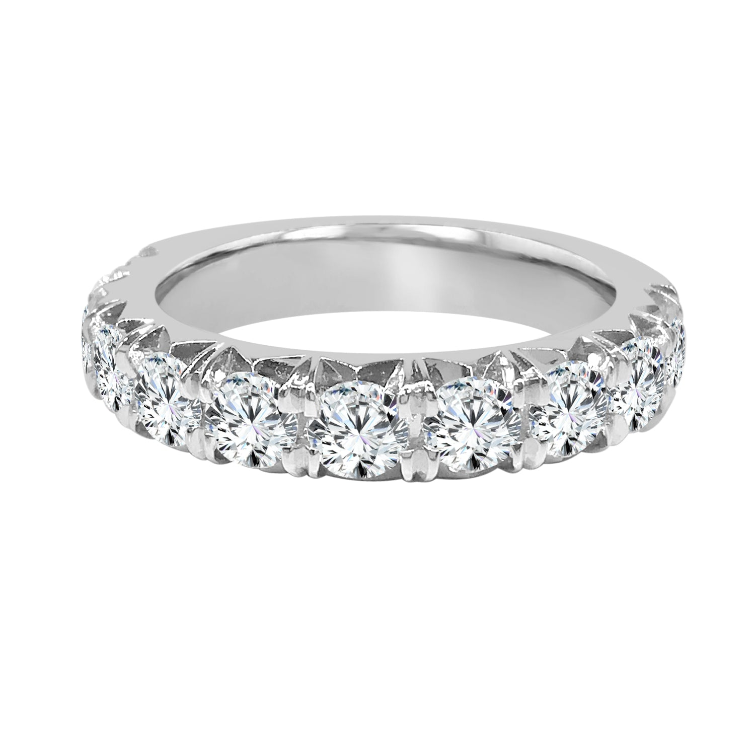 Diamond 1.60 Carat Prong Set Band