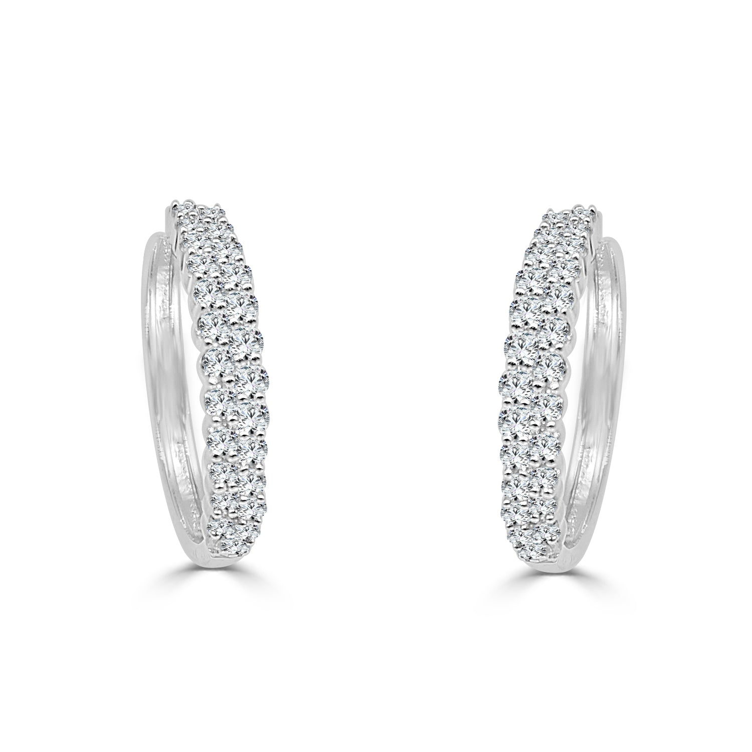 unique jewelry gold round carat ctw in and earrings diamonds stud diamond of baguette one white allezgisele amazon