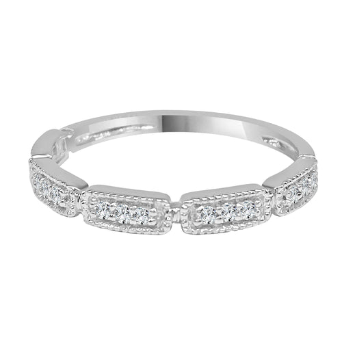 Diamond Milgrain Bar Fancy Band