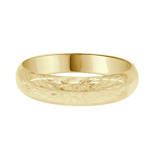 Designed Bangle Bracelet- Estate Piece