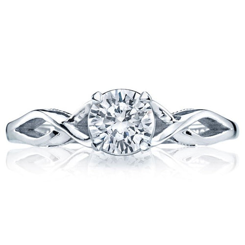 Tacori Sculpted Crescent Twist Solitaire Engagement Ring