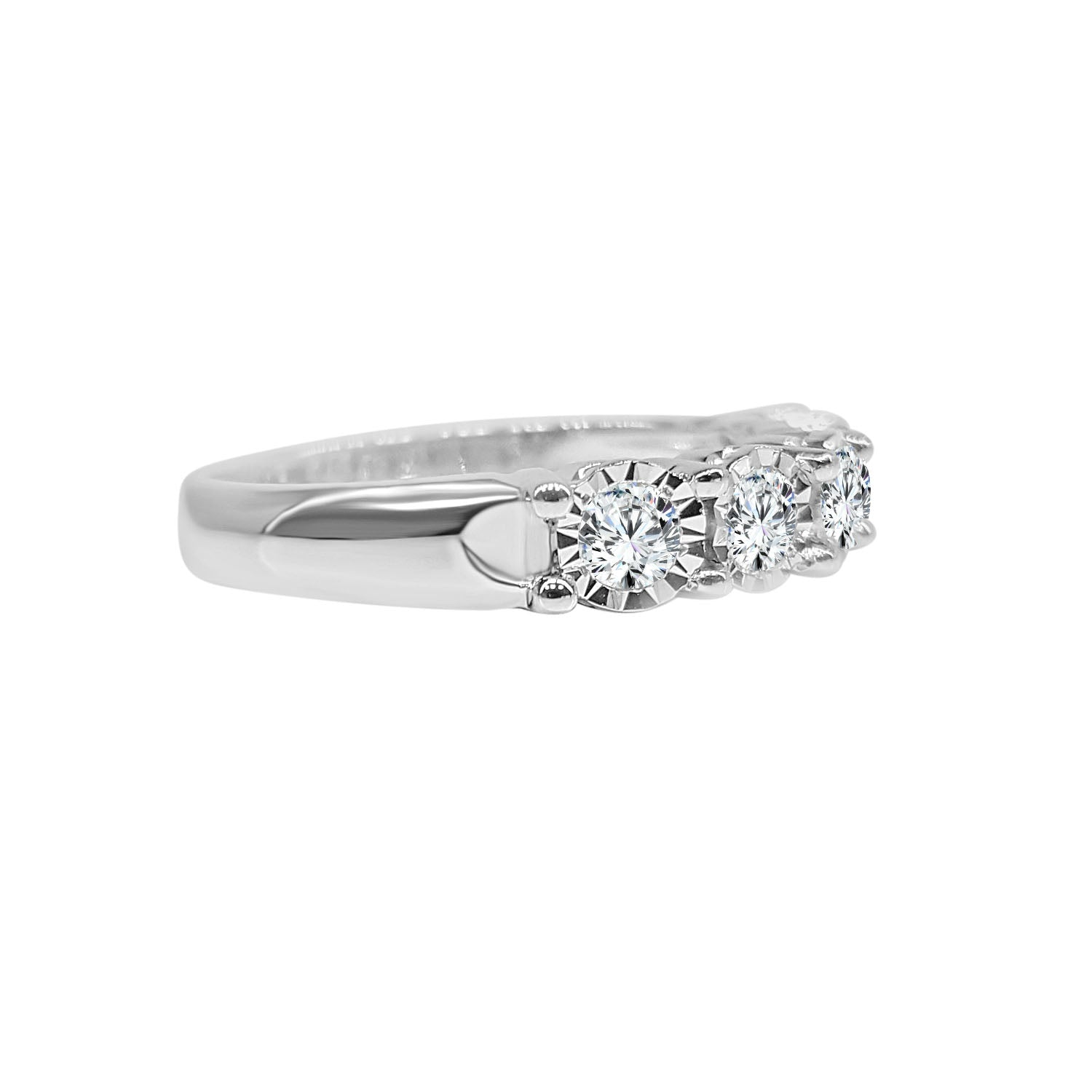 Half Carat Miracle Diamond Band
