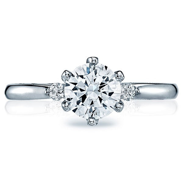 Tacori Sculpted Crescent Round Solitaire Engagement Ring - 56-2rd6w