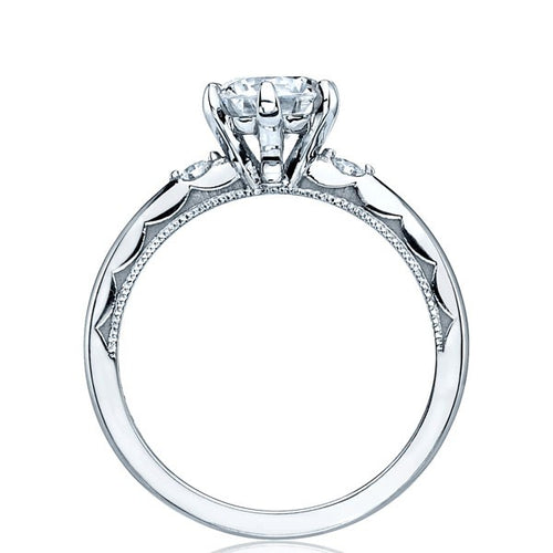 Tacori Sculpted Crescent Round Solitaire Engagement Ring