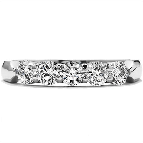 Hearts On Fire 2.00ct Diamond 5 Stone Band