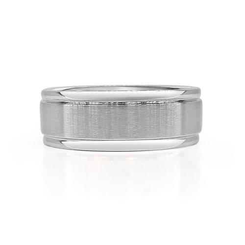 Steel Brushed Finish Band