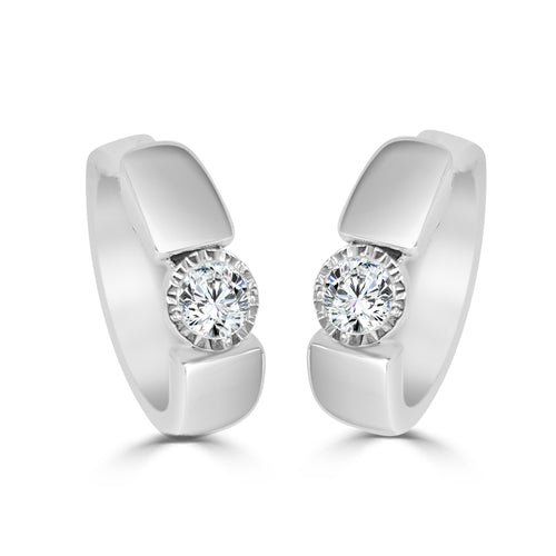 Miracle Diamond Hoop Earrings