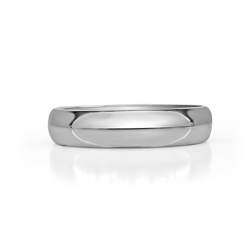 Tungsten Polished Five Millimeter Band