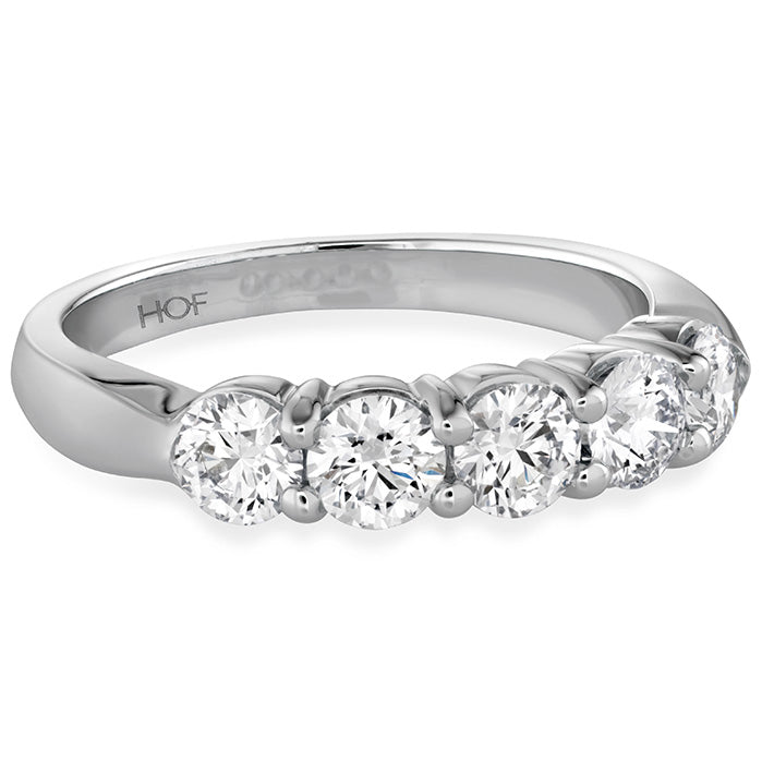 Hearts On Fire 100 Carat 5 Stone Diamond Band