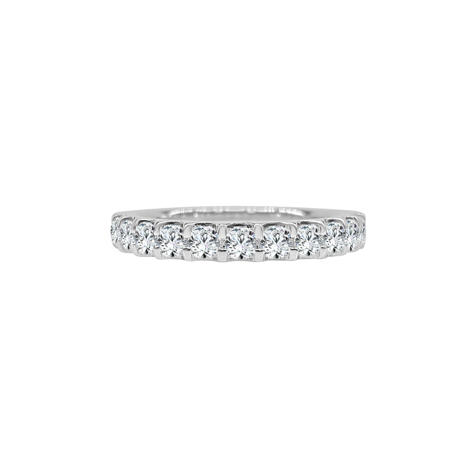 Diamond 3/4 Carat Prong Set Band