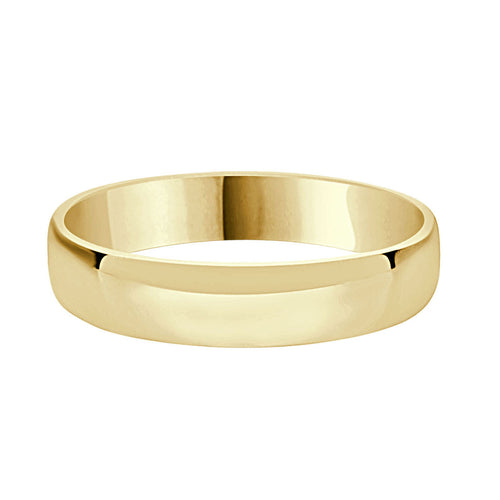 5mm Polished Comfort Fit Wedding Band