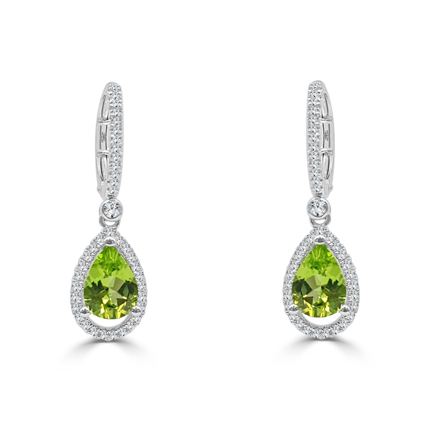 pear diamond home stud earrings shaped