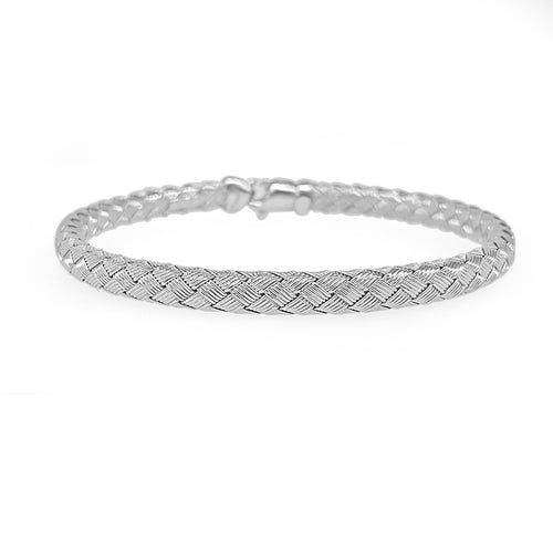 Braided Flex Bangle