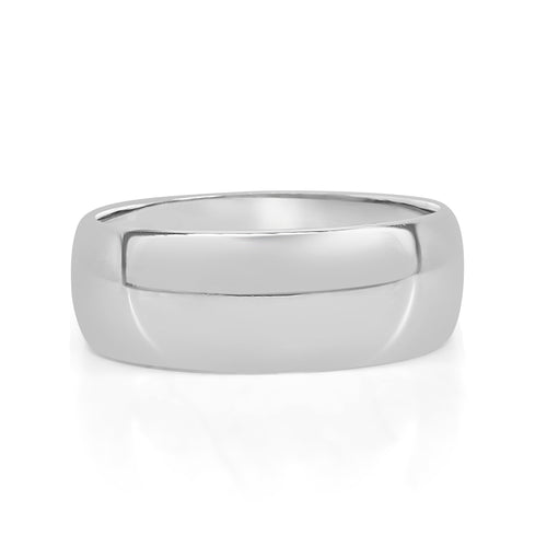 Polished Tungsten Band