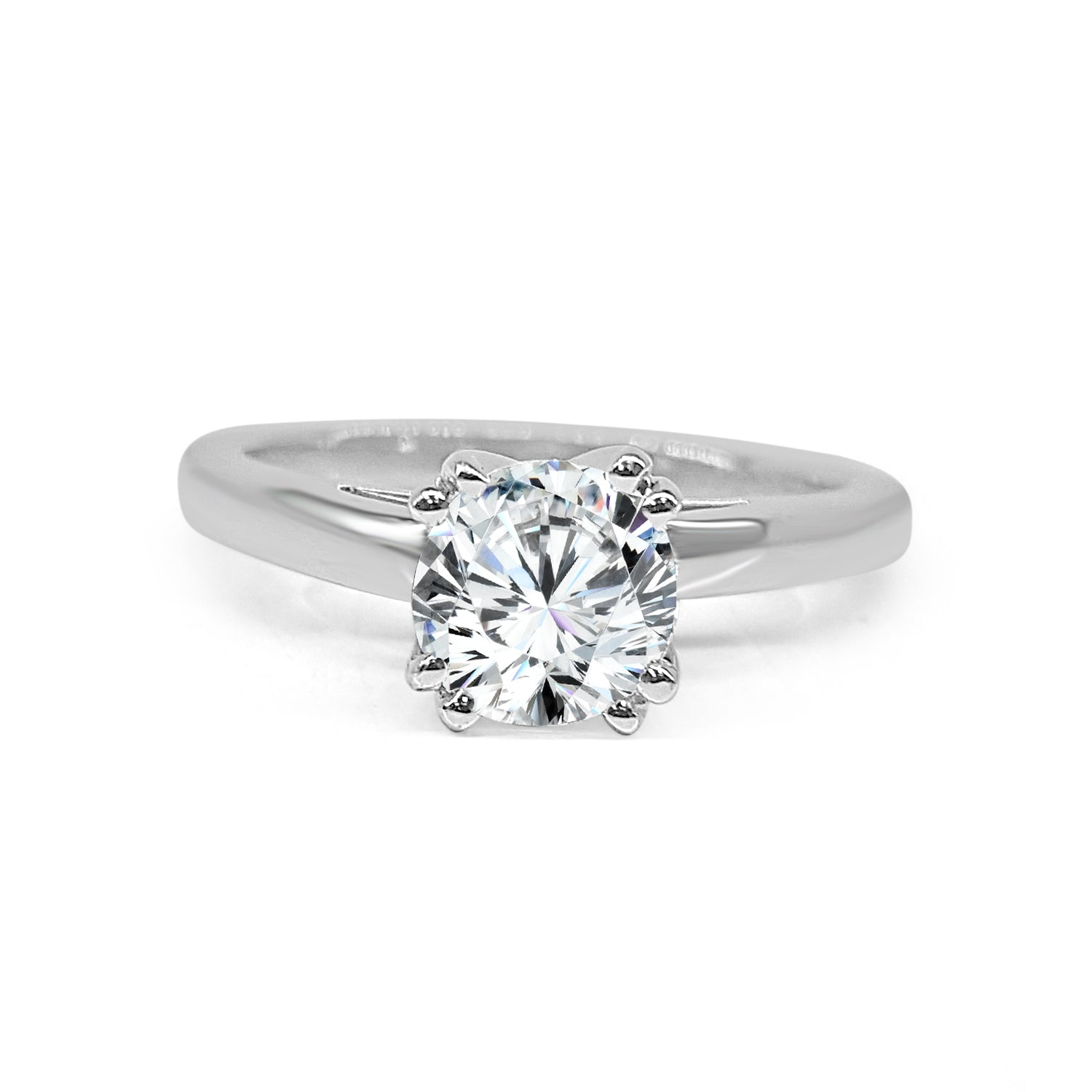 Double Prong Solitaire Mount