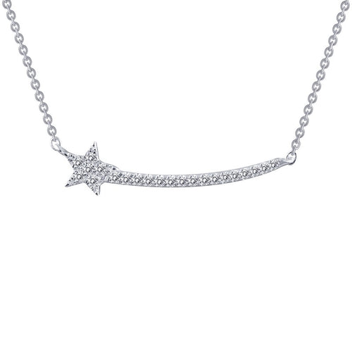 Lafonn Pave Shooting Star Necklace