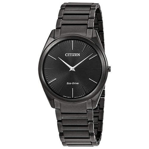 Citizen Mens Black-on-black Ecodrive Watch