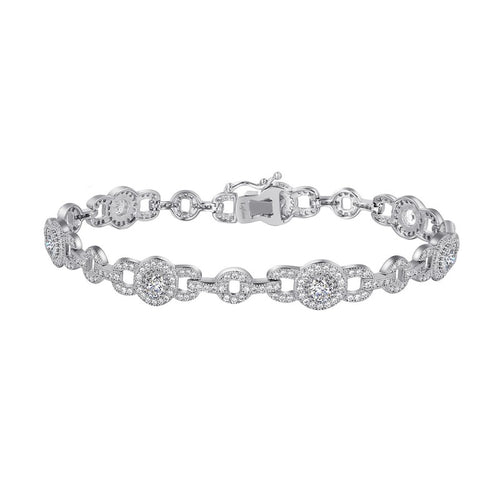 Lafonn Round Regal 7.25in Bracelet