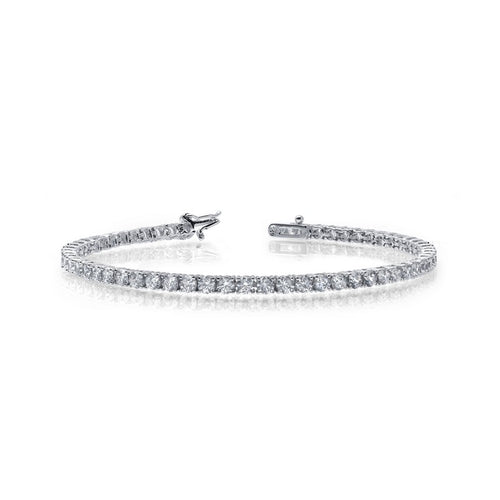 Lafonn 9.69 Total Carat Weight Tennis Bracelet