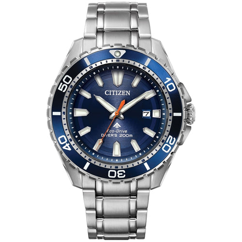 Citizen Ecodrive Divers Watch With Blue Dial