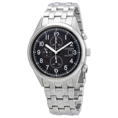 Citizen Gents Ecodrive Gray Dial With Date And Timer