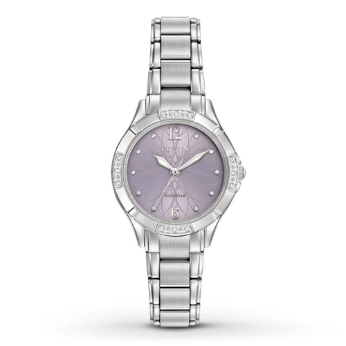 Citizen Ecodrive Ladies Watch With Diamond Accents