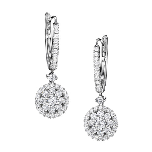 Fana Fancy Diamond Drop Earrings