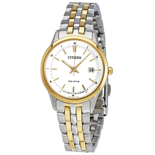Citizen Ladies Ecodrive Two-tone With Date
