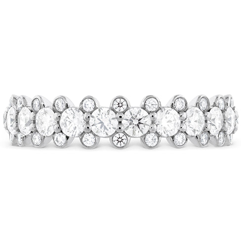 Hearts On Fire Gracious Bezel Diamond Band