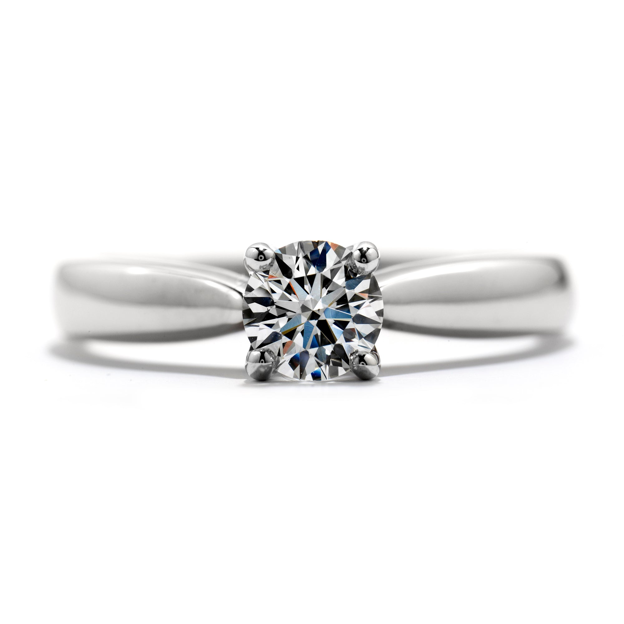 Hearts Fire Serenity Diamond Solitaire Engagement Ring – A&J Inc