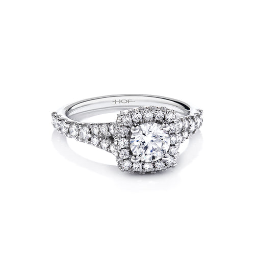 Hearts On Fire Acclaim 085ct Diamond Engagement Ring